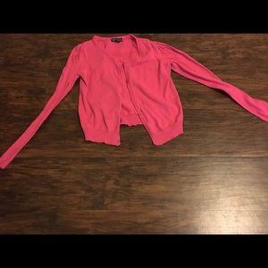 💗 Girl's pink cardigan